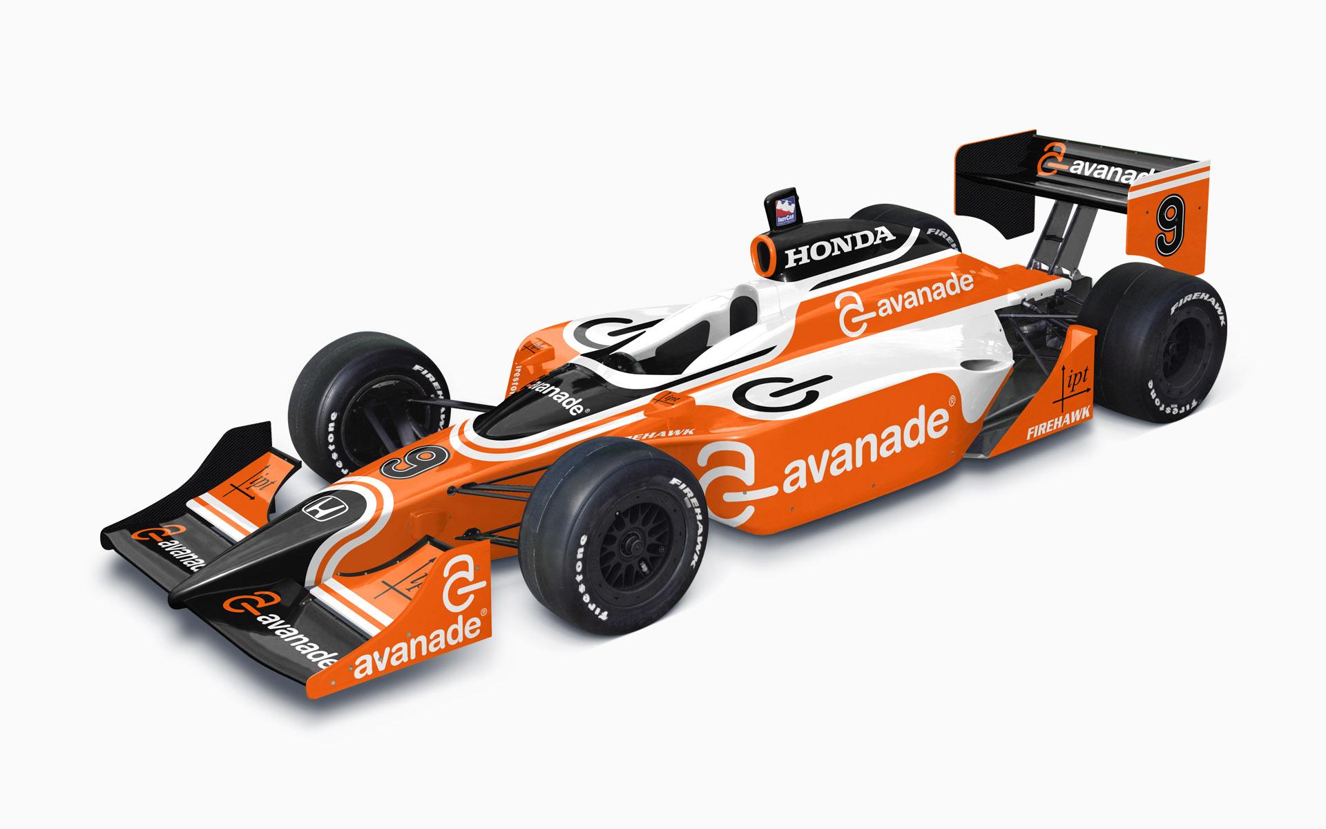 2009 IPT Avanade Dallara Honda IndyCar Livery Visualization
