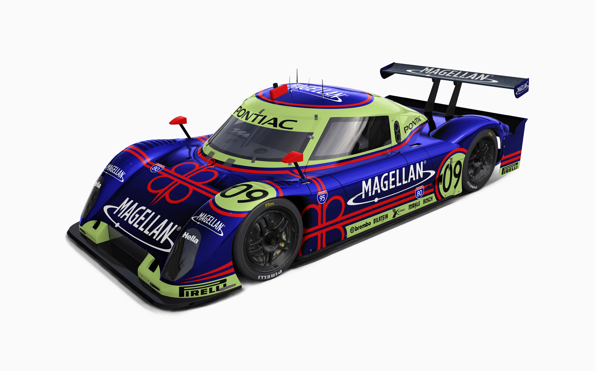 Justin Marks Racing Magellan Riley MKXX Daytona Prototype Livery Visualization