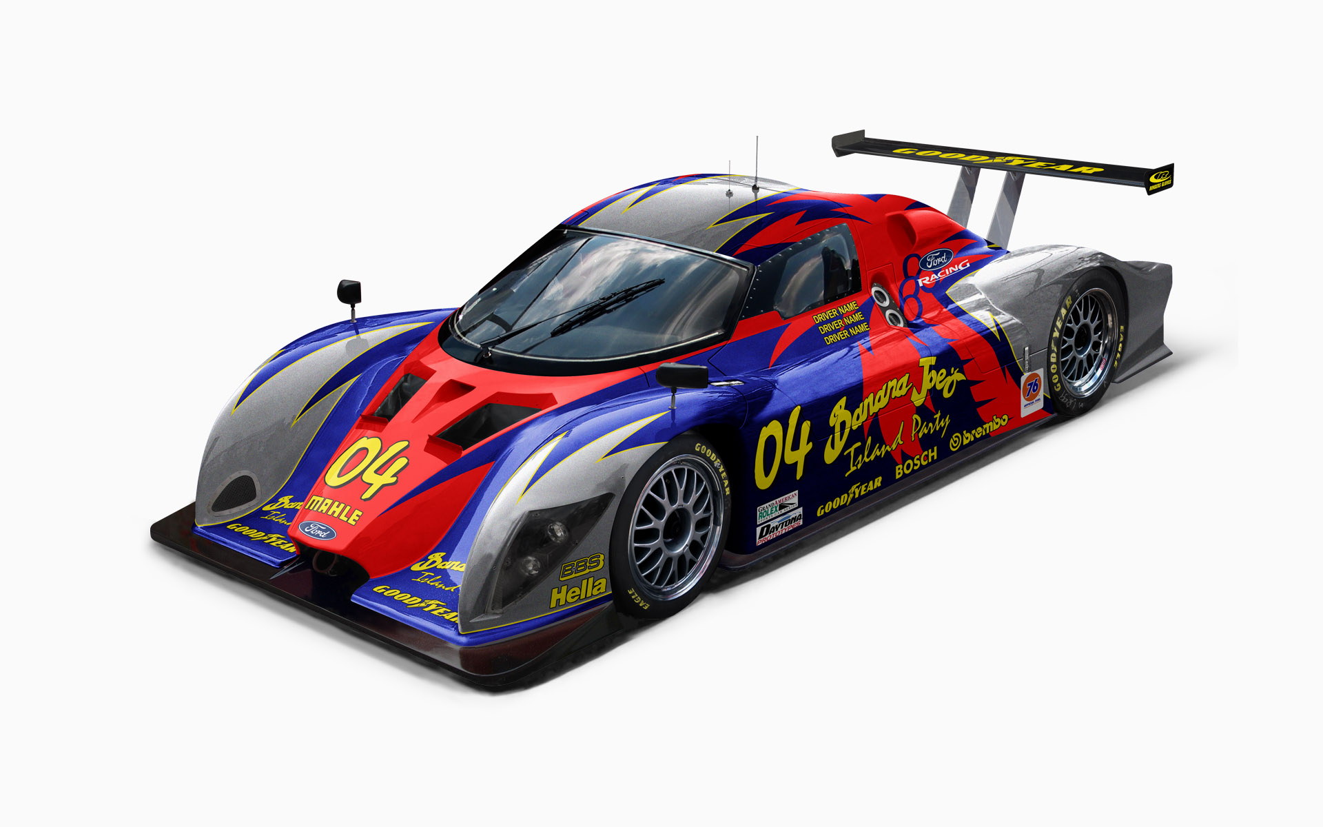 Banana Joe's Multimatic Daytona Prototype Livery Visualization