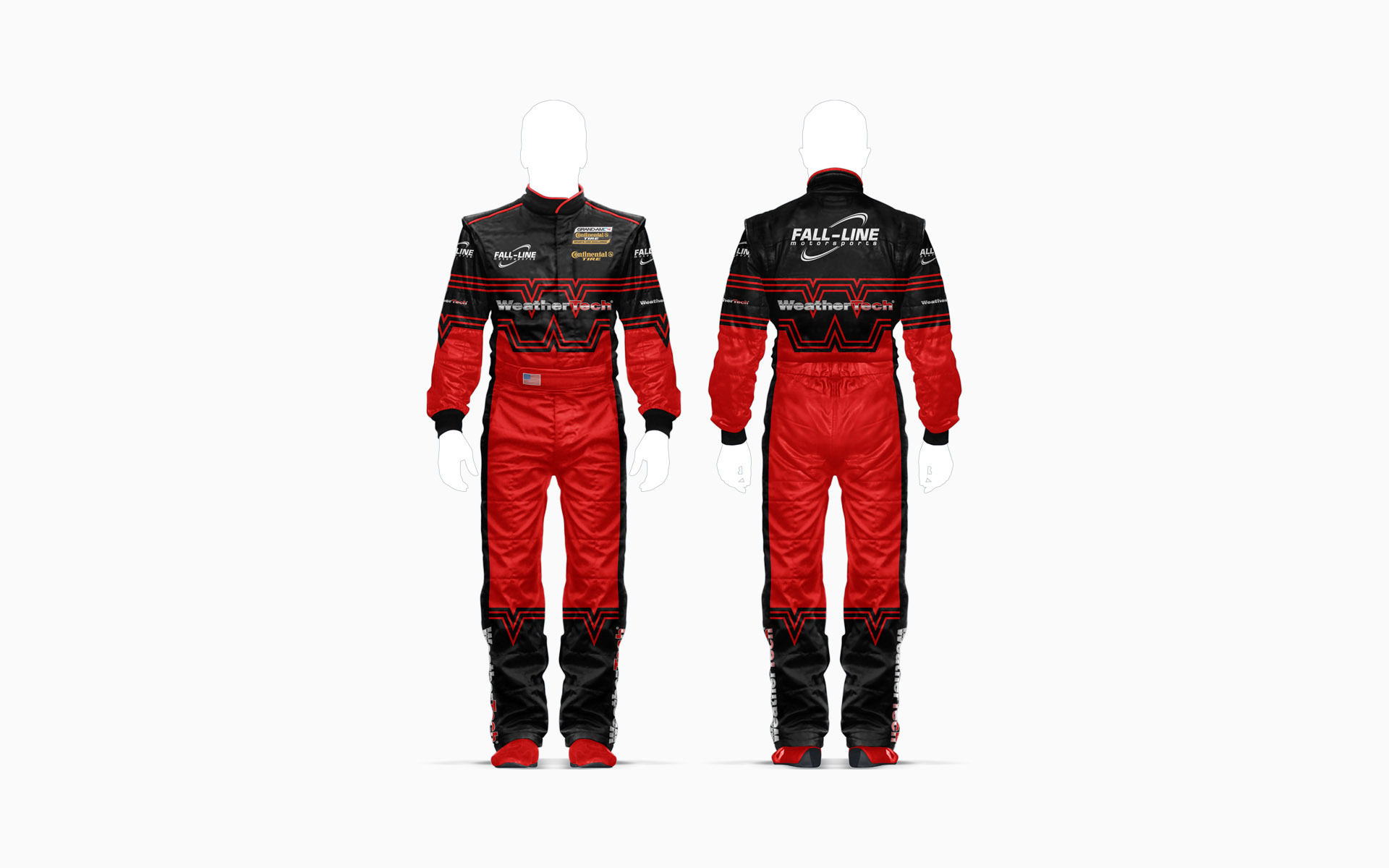 Fall-Line Motorsports WeatherTech Firesuit Visualization