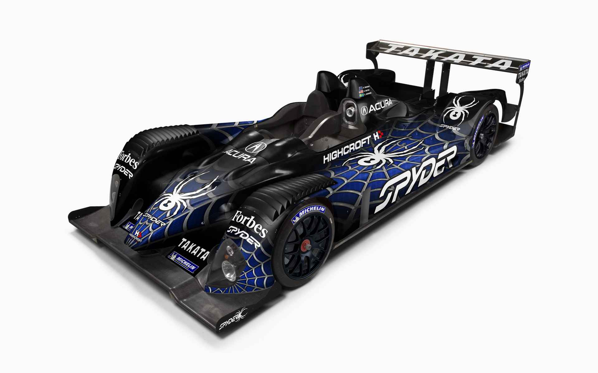 2007 Highcroft Racing Spyder Courage LC75 LMP2 Livery Visualization