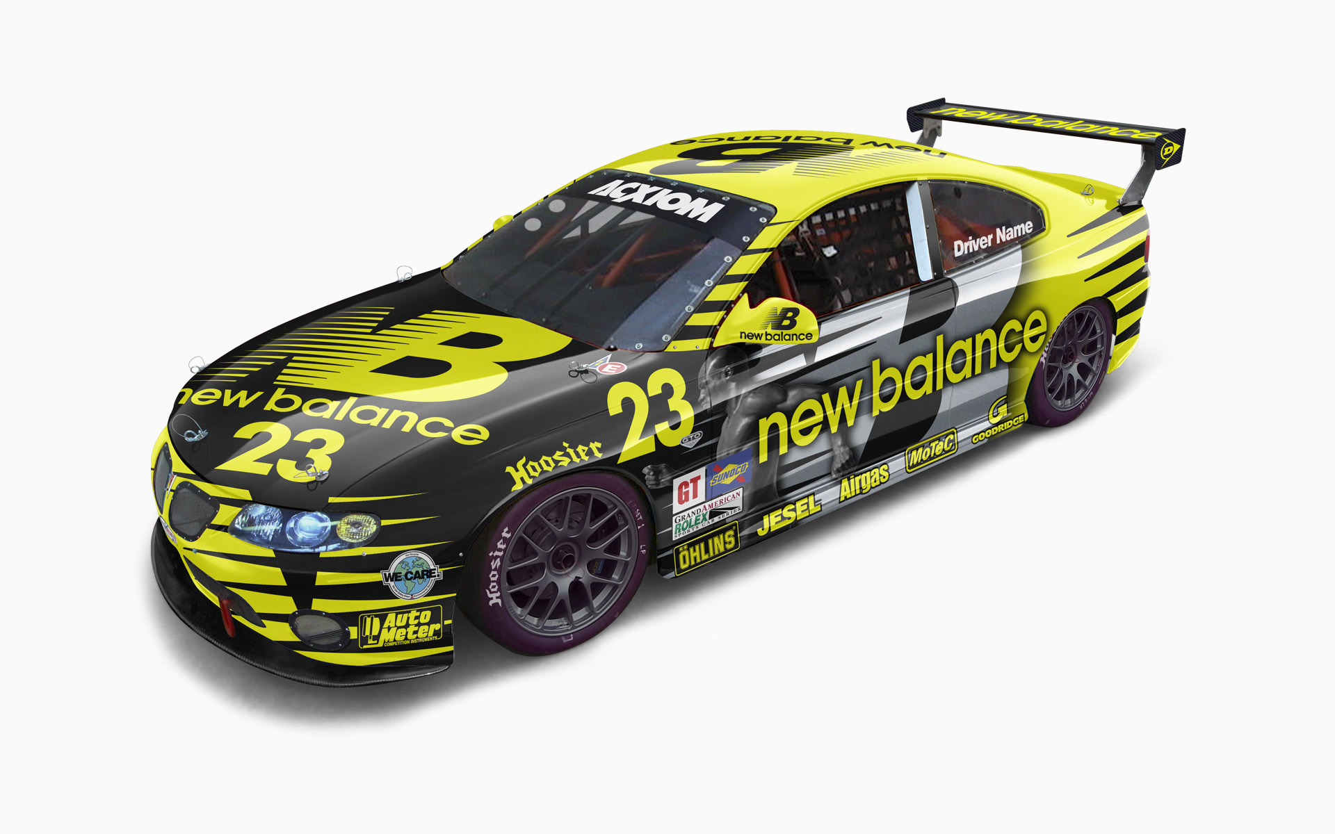 New Balance Pontiac GTO.R GT Livery Visualization