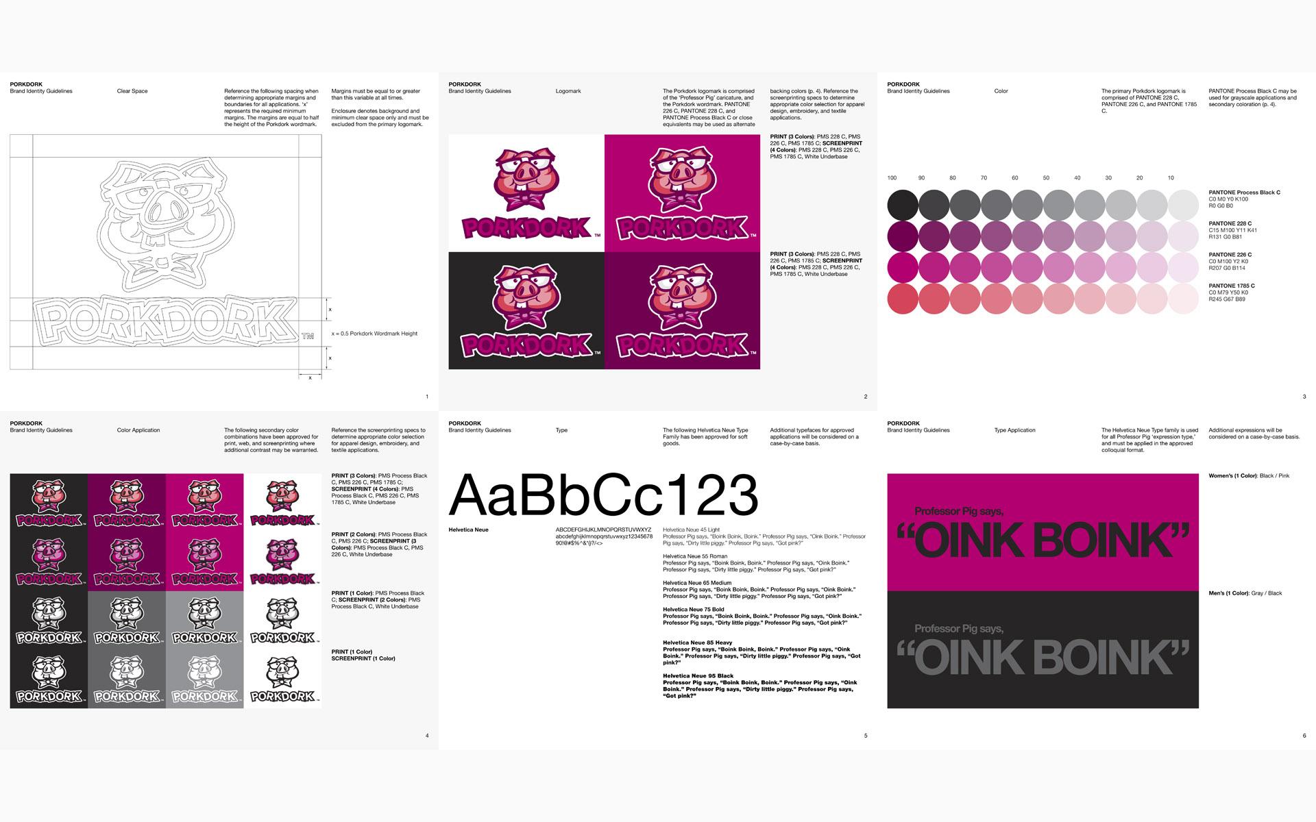 Porkdork Brand Identity Guidelines