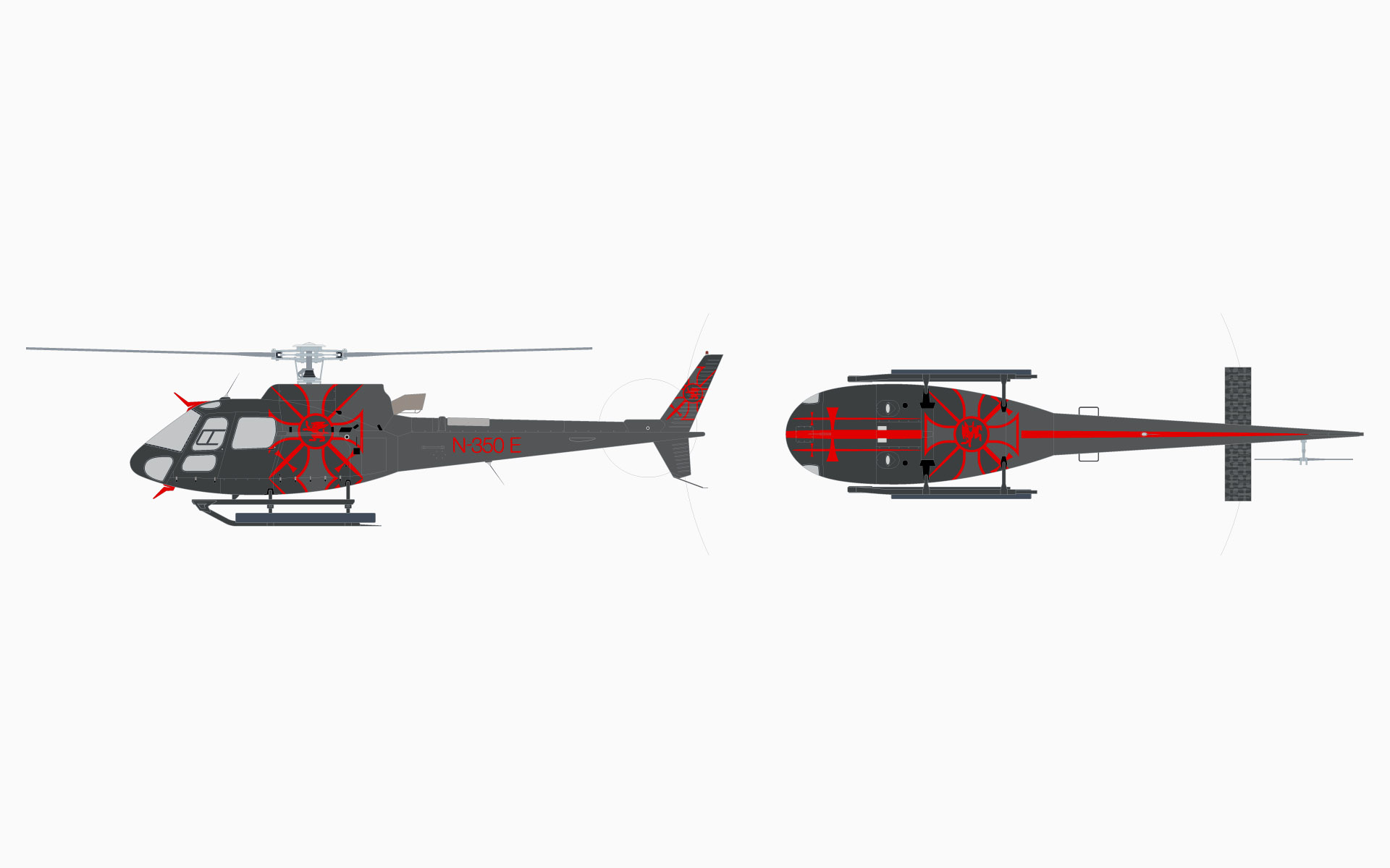Eurocopter AS350B3 Livery