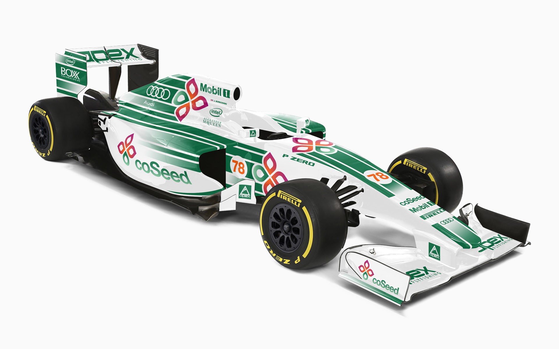 CoSeed F1 Livery Visualization
